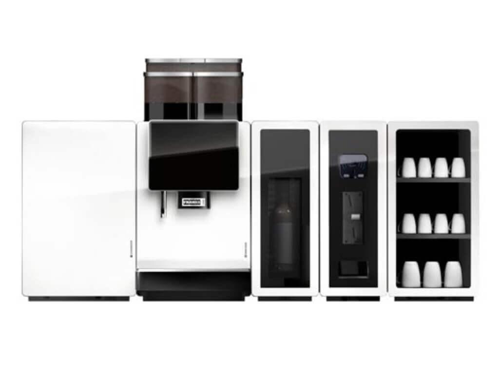 Kaffeemaschinen Weiß – Portfolio – FRANKE A1000