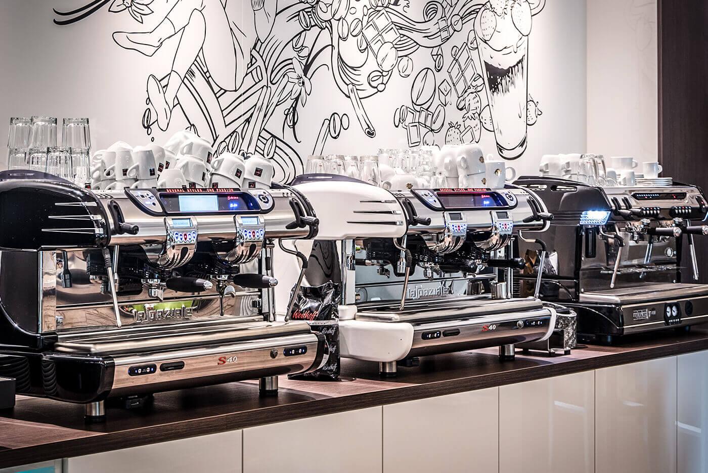 Kaffeemaschinen Weiß – Über uns – Showroom