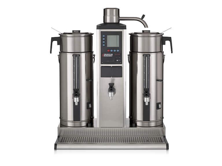 Kaffeemaschinen Weiß – Portfolio Bonamat Rundfiltermaschinen