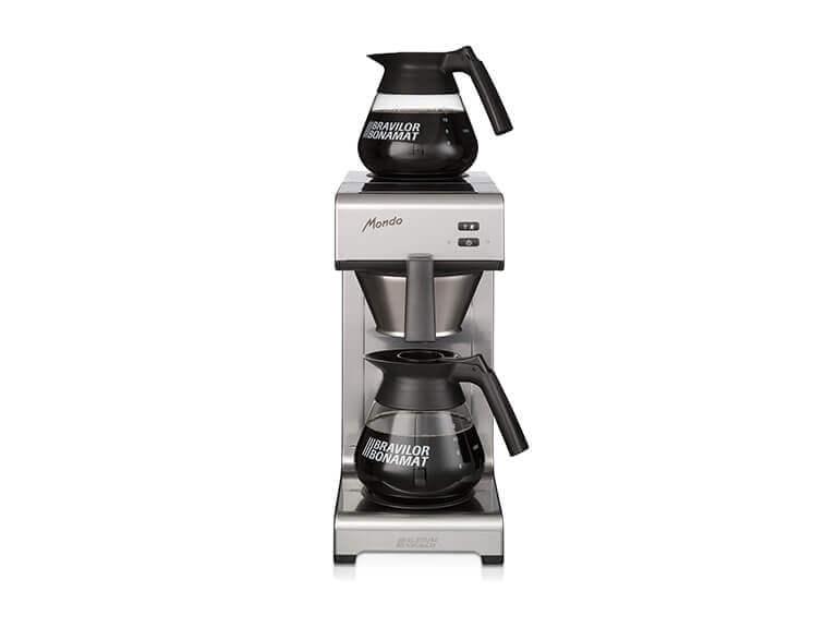 Kaffeemaschinen Weiß – Portfolio Bonamat Schnellfiltermaschinen