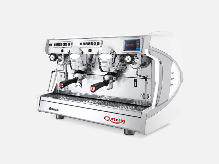 Kaffeemaschinen Weiß – Portfolio Astoria Sabrina